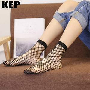 Women Sexy Ladies Mesh Fish Net Socks