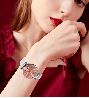 Women's Wristwatches Luxury Silver Popular