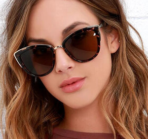 Sexy Cat eye Sunglasses Women Luxury