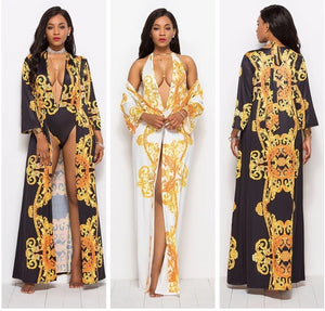 2PCS/SET Sexy Beach Cover Up + Swimsuit