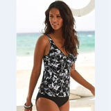 Two Piece Tankini Swimsuits Women Swimwear