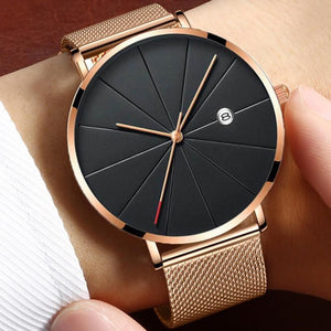 Women's Watches Ultra-thin Rose Gold Bracelet Ladies Watch Women
