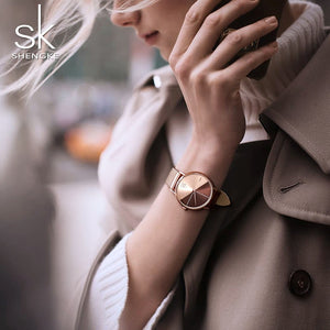 SK Watches Women hot sales japan movement girls'