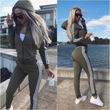 Women's wear new sports suit  2piece