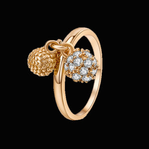 Luxury gold Engagement Rings