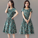 Fashion casual floral dress