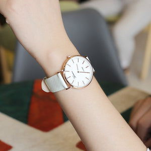 New Fashion Simple Style Temperature Change Color Women Watch