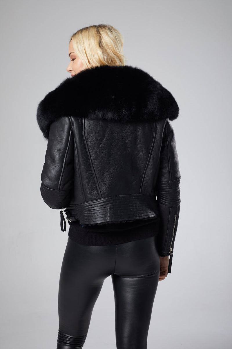 Lola Leather Jacket