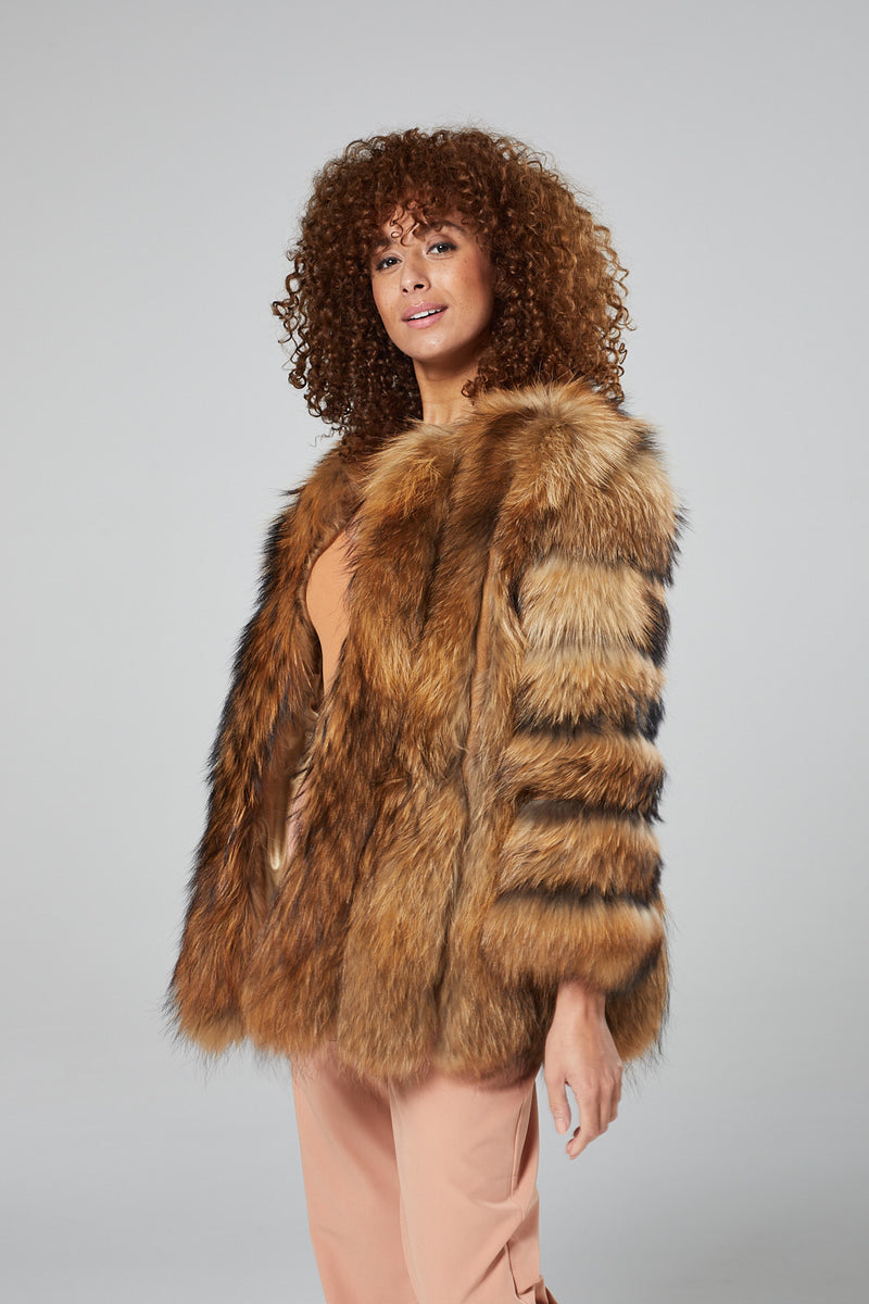 Coco Natural Fur Coat