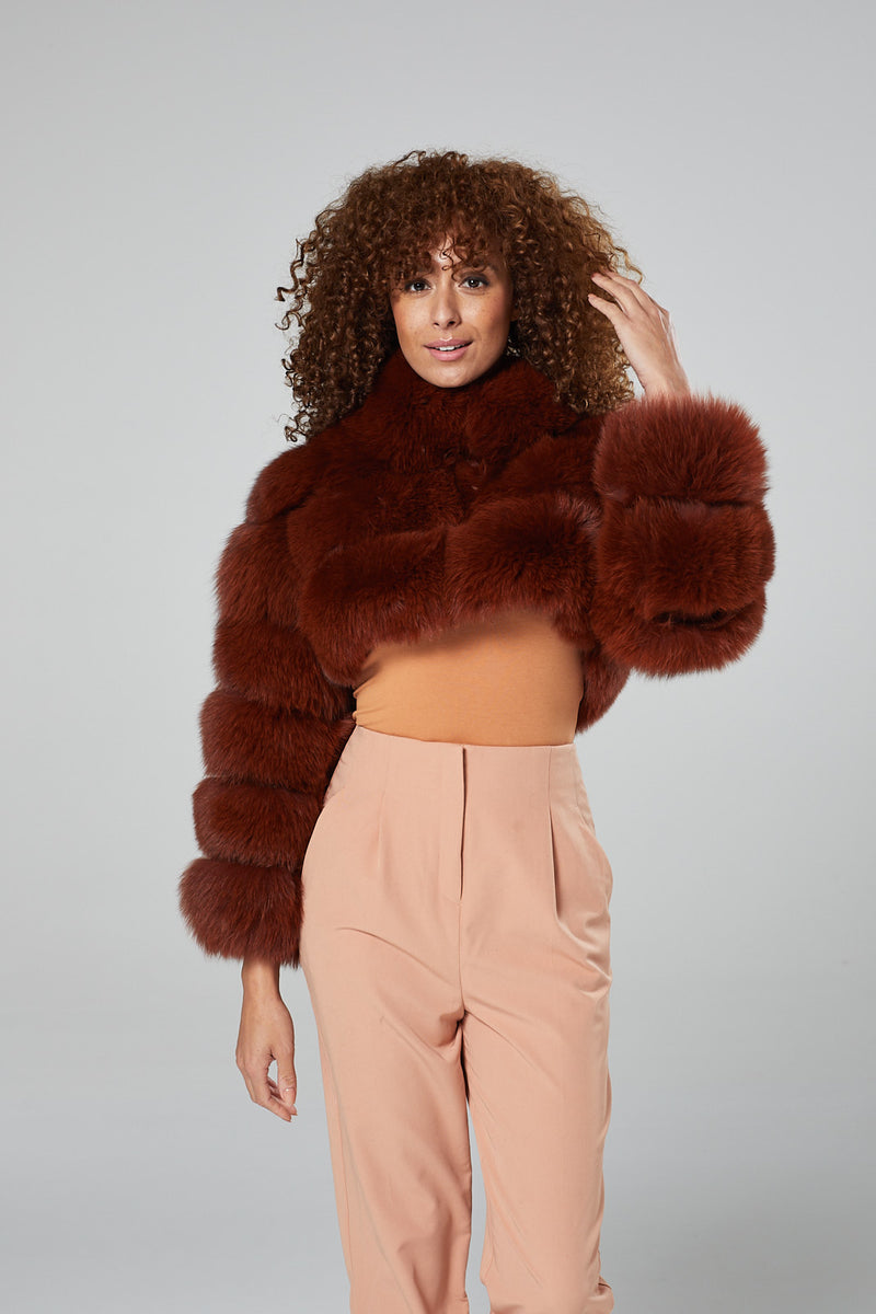 Desi Fur Coat
