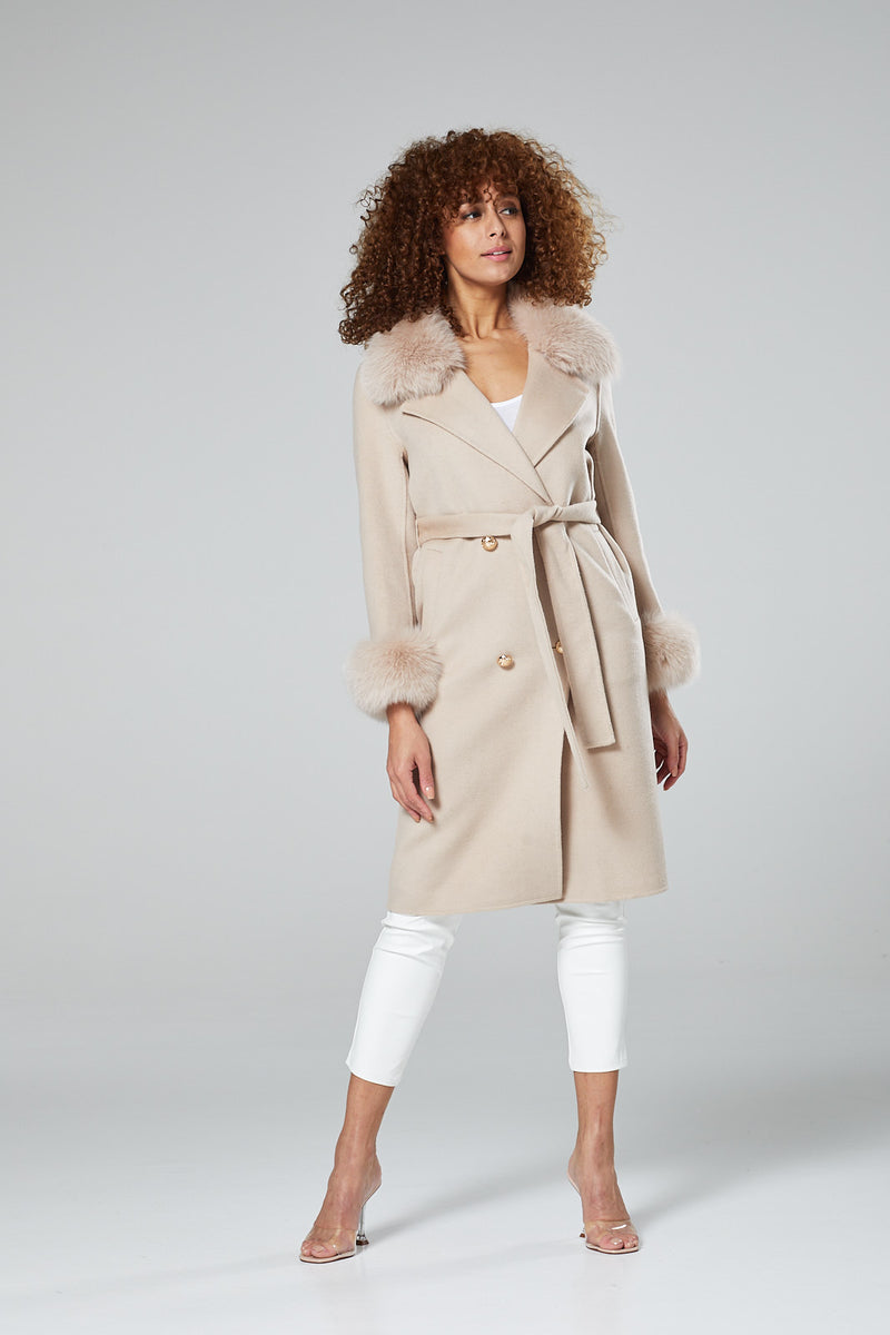 Chantilly Cashmere Coat