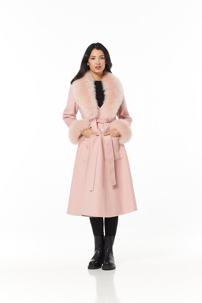 Chanel Cashmere Coat
