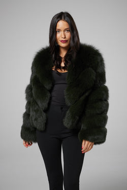 Elise Fox Fur Coat