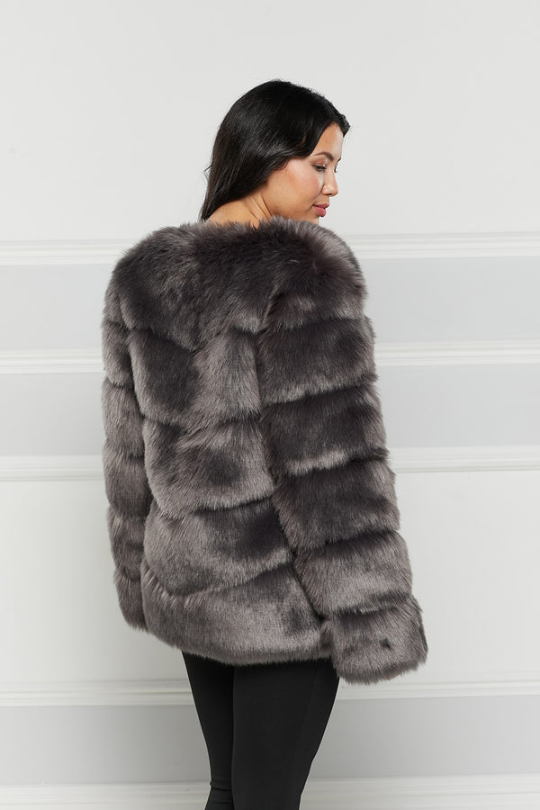 Sophie Faux Fur Coat