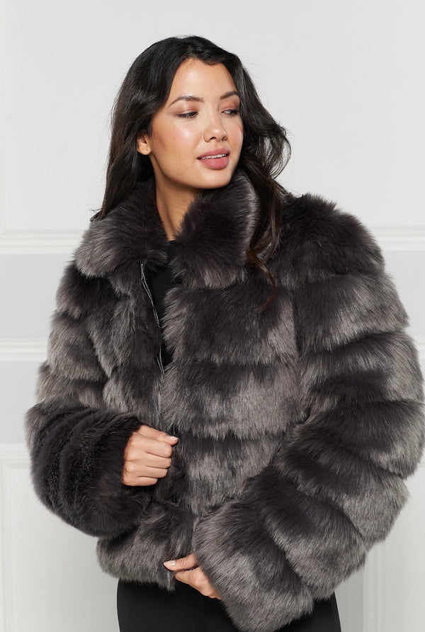 Salome Faux Fur Coat