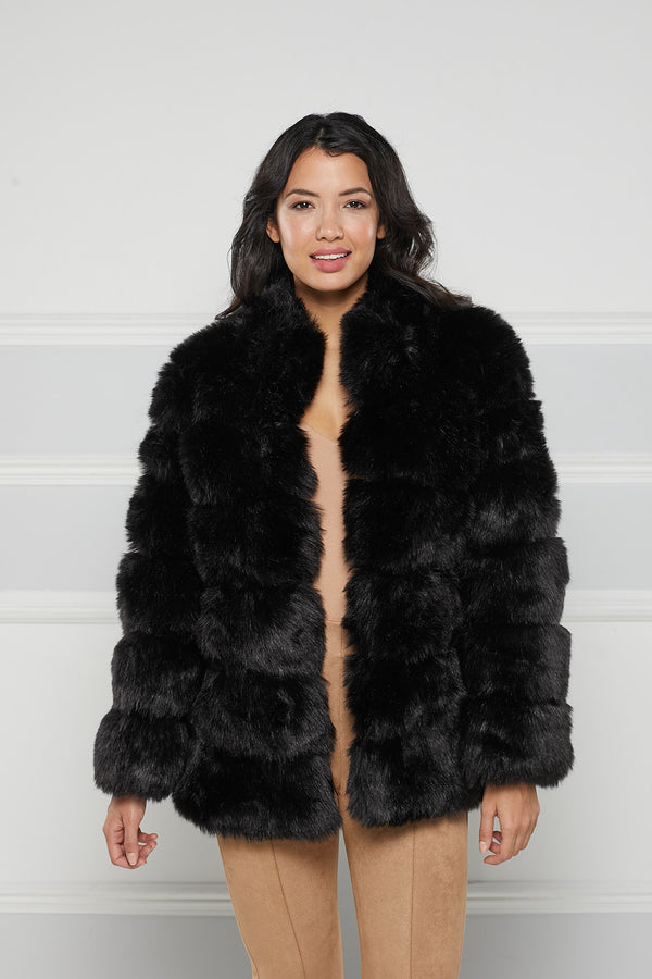 Rochelle Faux Fur Coat