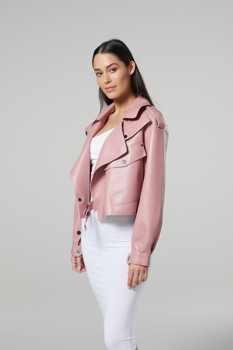 Lois Leather Jacket