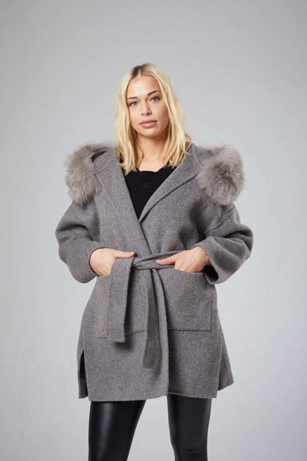 Fluer Wool Coat