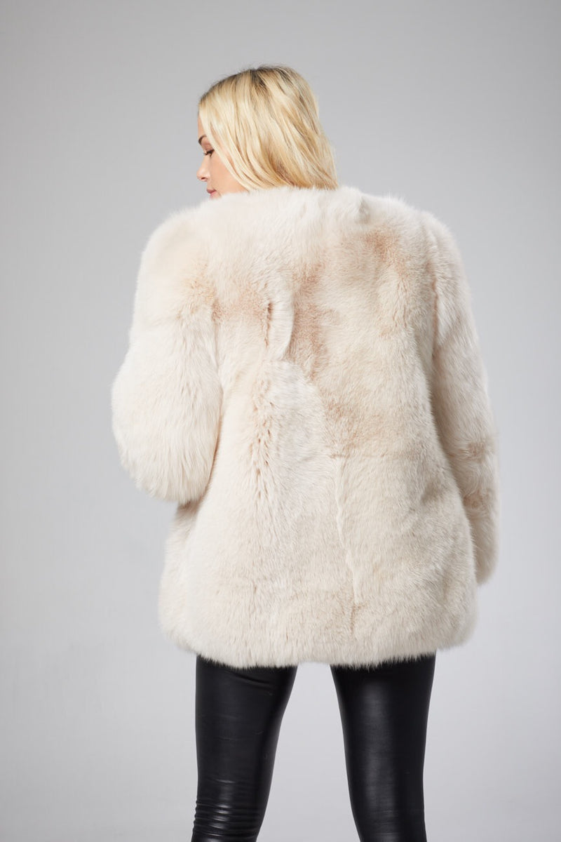 Mila Luxury Fox Fur Coat