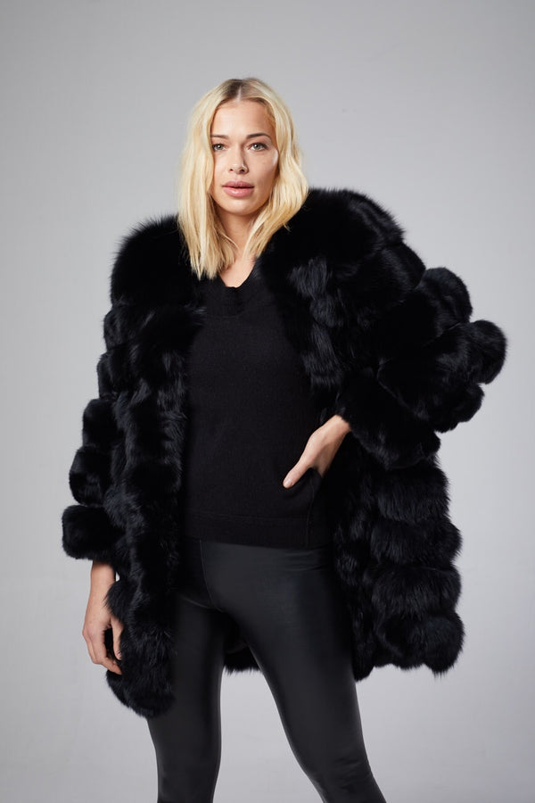 Cherie Fox Fur Coat
