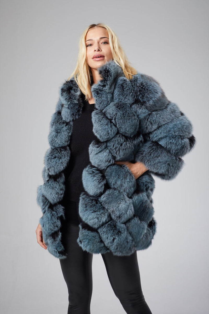 Lucie Fox Fur Coat