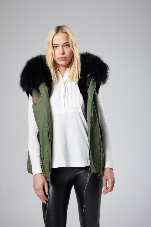 Iva Hooded Vest