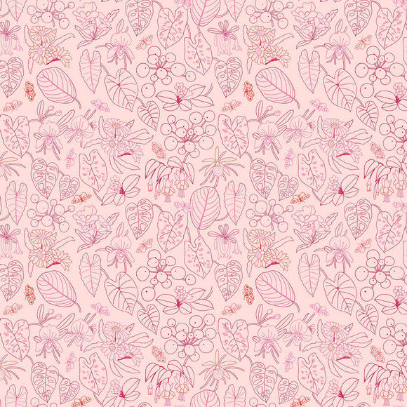 Glasshouse Embroidery Pink