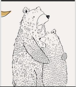 Pine Lullaby RD Bear Hug PANEL