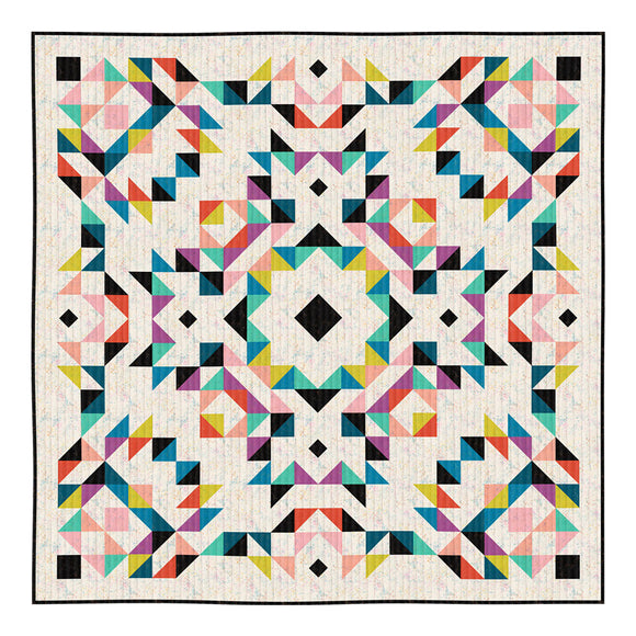 Begonia Quilt Kit - Ruby Star Basics by Rashida Coleman-Hale