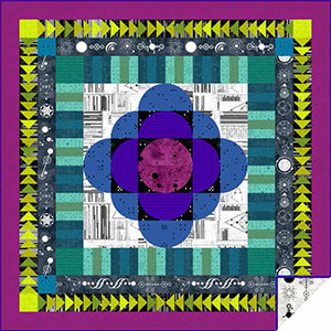 Free Pattern - Between Worlds Quilt by Giucy Giuce