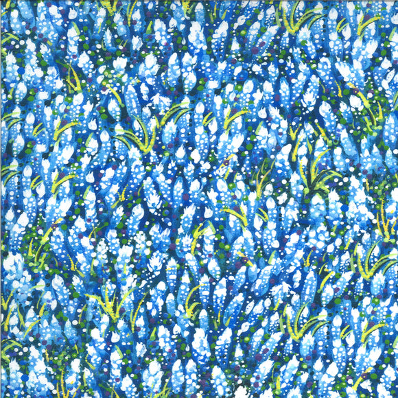 Dreamscapes Field of Blue Lt Blue