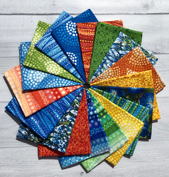Dreamscapes Fat Quarter Bundle by Ira Kennedy