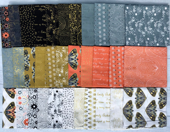 Dwell In Possibility Fat Quarter Bundle by Gingiber