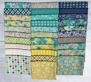 Flowers For Freya Half Yard Bundle by Linzee Kull McCray