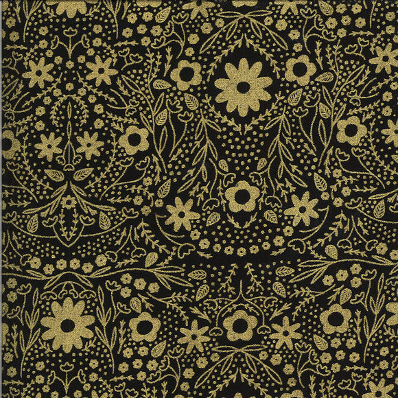 Dwell In Possibility Full Bloom Metallic Night Gold