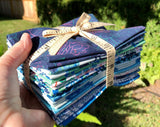 Glasshouse-Blue Half Yard Bundle by Emily Taylor