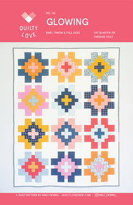 Glowing Quilt Pattern by Emily Dennis
