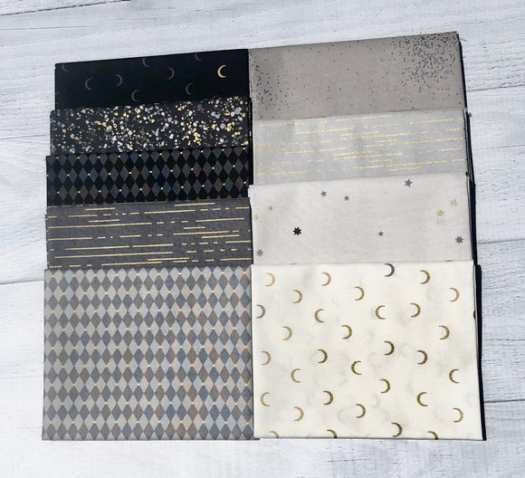 Greatest Hits-Neutral Half Yard Bundle by Libs Elliott