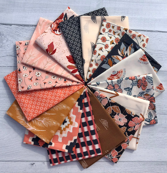 Homebody Fat Quarter Bundle by Maureen Cracknell