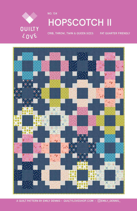 Hopscotch II Quilt Pattern by Emily Dennis