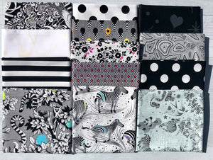 Linework Half Yard Bundle by Tula Pink