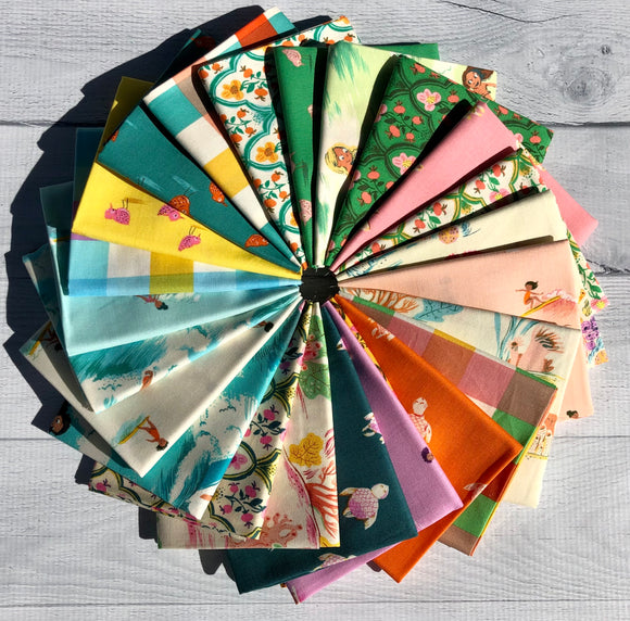 Malibu Fat Quarter Bundle by Heather Ross