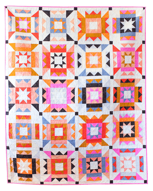 Nova Star Quilt Kit Featuring Warp & Weft by Alexia Marcelle Abegg