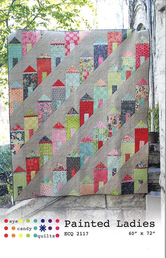 Painted Ladies Quilt by Eye Candy Quilts