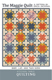 The Maggie Quilt Paper Pattern by Kitchen Table Quilting