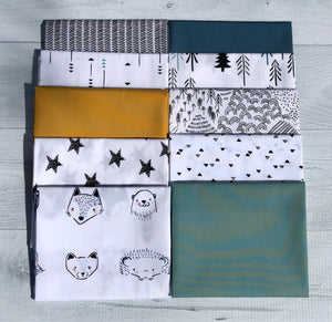 Pine Lullaby Rediscovered Blue Half Yard Bundle