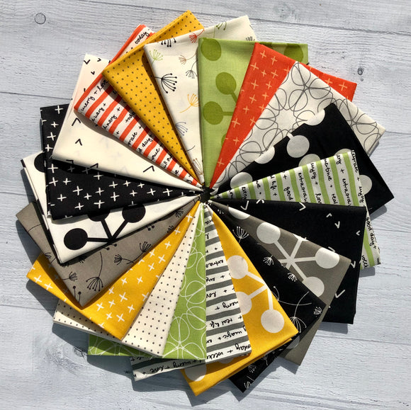 Quotation Fat Quarter Bundle by Brigitte Heitland