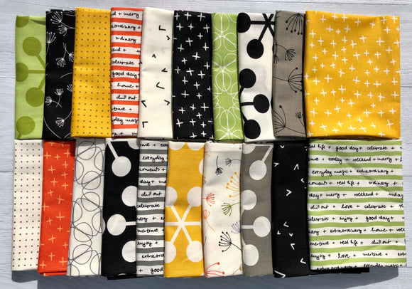 Quotation Half Yard Bundle by Brigitte Heitland 20pc
