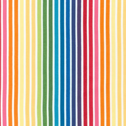 Remix Stripes Bright by Ann Kelle