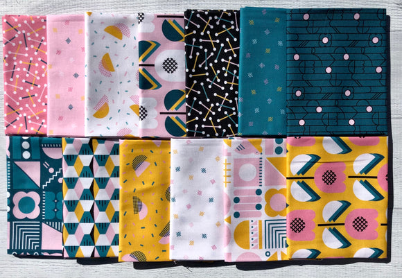 Retro Rove Half Yard Bundle by Lemonni
